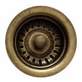 Kitchen Sink 3-1/2'' Basket Strainer, Weathered Bronze