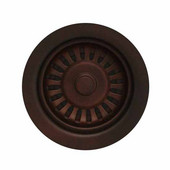 Kitchen Sink 3-1/2'' Basket Strainer, for Duet Series, Mahogany Bronze