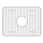 Fireclay Sink Stainless Steel Grid, Rectangular Shape