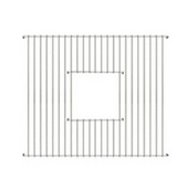 - Fireclay Sink Grid - Square Shape, Stainless Steel