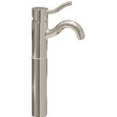 - Single Hole Faucet - Elevated, Brushed Nickel (Shown in Polished Chrome)
