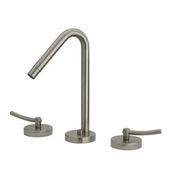 Metrohaus Lavatory Widespread Faucet with 45º Swivel Spout, Polished Chrome
