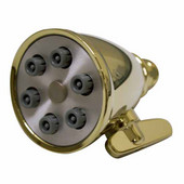 2-3/4'' Round Rainfall Shower Head in Polished Brass