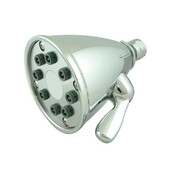 Beautiful Expressions Polished Chrome Shower Head with Adjustable Jets, 12''