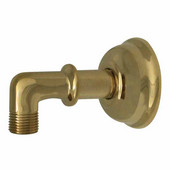 Showerhaus Classic Supply Elbows, Polished Brass