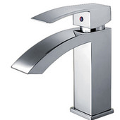 Jem Collection Single Hold Lever Faucet in Polished Chrome with Pop Up Waste