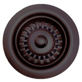 Waste Disposer Trim for Deep Fireclay Sink Applications, Mahogany Bronze