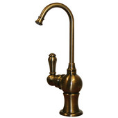 - Instant Hot Point of Use Faucet, Antique Brass
