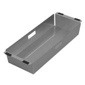 Noah Plus Collection Stainless Steel Kitchen Sink Colander, Gunmetal Finish