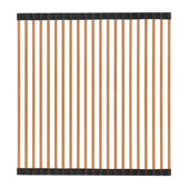 Noah Plus Collection Stainless Steel Removable Kitchen Sink Roll Mat, Copper Finish