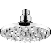 6'' Round Rainfall Shower Head in Brushed Nickel