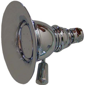 4-3/8'' Round Rainfall Shower Head in Brushed Nickel
