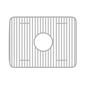 Stainless Steel Sink Grid for use with Fireclay Sink Model WHQDB5542, 24-1/2''W x 17''D x 9''