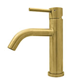 Waterhaus Lead-Free Solid Stainless Steel Single lever Elevated Lavatory Faucet In Brass, 2''W x 6-1/2''D x 8-1/2''H