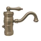 - Single Hole/Single Lever Faucet, Brushed Nickel