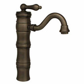 - Single Hole Elevated Faucet, Pewter (Shown in Oil Rubbed Bronze)