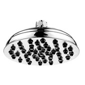8'' Sunflower Rainfall Shower Head in Polished Chrome