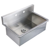 Noah Collection Laundry Scrub Sink, 31''W x 19-1/2''D x 16-1/2''H