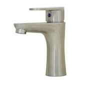 Cellina 6-3/8'' Stainless Steel Bathroom Faucet, 2'' W x 4-22/25'' D x 6-2/5'' H