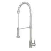 Durant 27'' Stainless Steel Pull-Down Kitchen Faucet, 2-1/4'' W x 12-1/4'' D x 27'' H