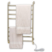 Kensington Hardwired/Softwired Towel Warmer in Satin Nickel