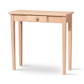 Rectangular Hall Table with Drawer