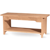 Brookstone Bench, 48'' long