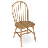 Windsor 37'' Spindleback Chair, Natural