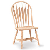 Arrowback Chair - Windsor Steambent, Unfinished