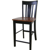 - Remo Stool, Black/Cherrry