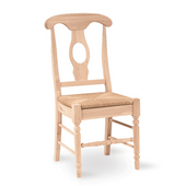 Empire Unfinished Chair, Pair