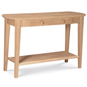 Phillips Console Table, Unfinished