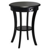 - Round Table, Black finish