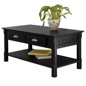 Timber Coffee Table, Black finish