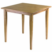 Groveland Square Dining Table, Shaker Leg, Light Oak