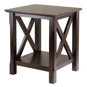 Xola End Table, Cappuccino