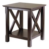 Xola End Table, Cappuccino