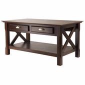 Xola Coffee Table, Cappuccino Finish