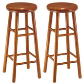 30'' Swivel Seat Bar Stool in Heritage Cherry Finish