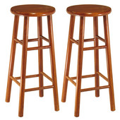 30'' Bar Stool with Bevel Seat in Heritage Cherry Finish
