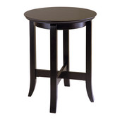 Toby End Table, Round, Dark Espresso