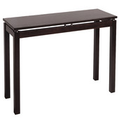Linea Console Table in Espresso Finish 39.37''W x 13.93''D x 29.56''H