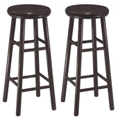 30'' Swivel Bar Stool, Set of 2