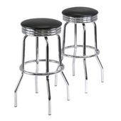 Summit Swivel Bar Stools, Set of 2