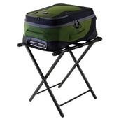 WS-93522, Tavin Luggage Rack, Folding Straight Leg, Black, 22.68'' W x 16.18'' D x 21.12'' H