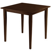 Groveland Square Dining Table, Shaker Leg, Antique Walnut