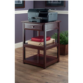 Delta Printer Table, Walnut, 20-7/8''W x 20-1/4''D x 30-11/16''H