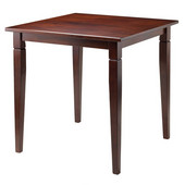 Kingsgate Dining Table Routed with Tapered Leg in Walnut