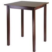 Parkland High/Pub Square Table, Antique Walnut