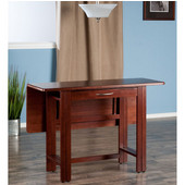Taylor Collection Drop Leaf Table in Walnut, 41-47/64'' W x 30-1/2'' D x 29-1/8'' H